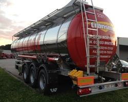 Vervoer Transmet nv - Transport par camion-citerne