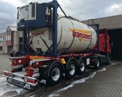 Vervoer Transmet nv - Tanktransport